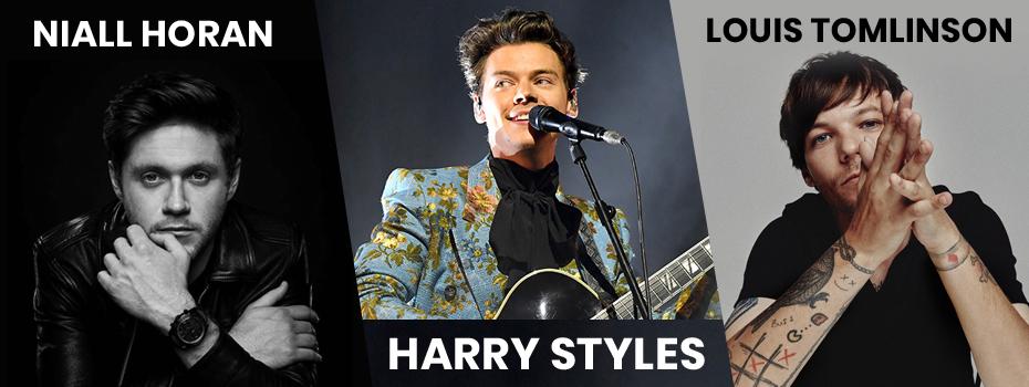 Harry Styles, Niall Horan & Louis Tomlinson