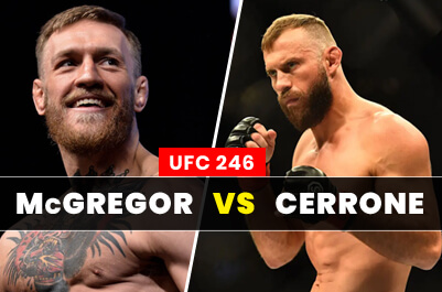UFC 246: Conor McGregor vs. Donald Cerrone