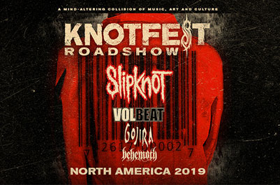 Slipknot Announced Massive 29-date Knotfest Roadshow Tour this Summer