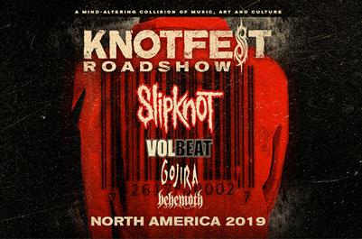 Slipknot Announced Massive 29-date Knotfest Roadshow Tour this Summer