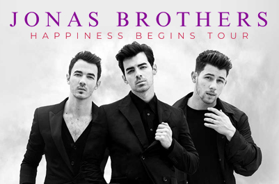 Jonas Brothers announce 'Happiness Begins' 40-date North American Tour