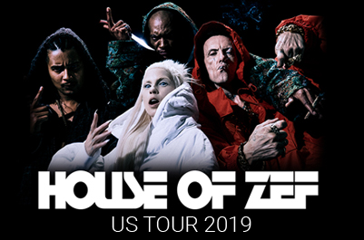 Die Antwoord announce 'House of Zef' US Tour 2019