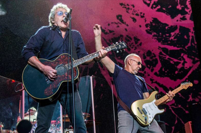 The Who 'Moving On! Tour' Dates this Fall