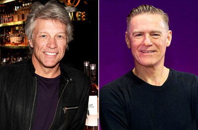 Bon Jovi and Bryan Adams Join Forces for a Huge Co-headlining Tour